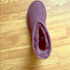 Dark purple ugg boots